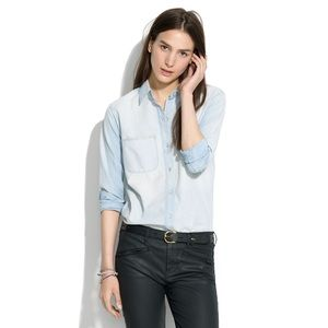 Madewell The Perfect Chambray Ex-boyfriend Shirt